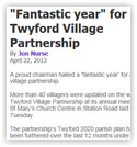 Fantastic year for Twyford Village Partnership