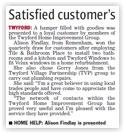 Satisfied customer's